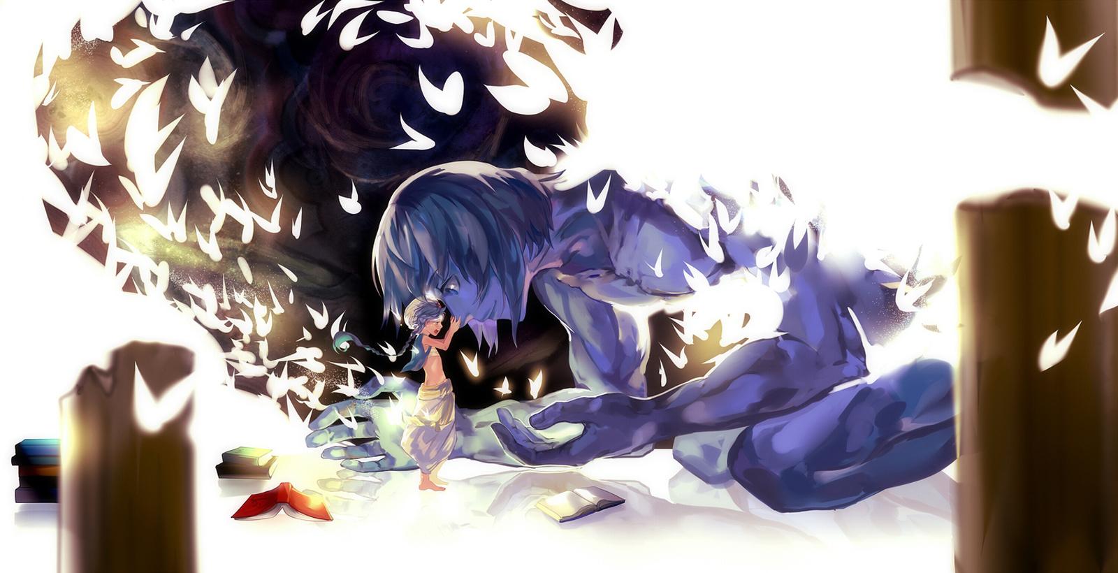 Aladdin Ugo Magi  the labyrinth of magic anime konochan hd wallpaper for  desktop